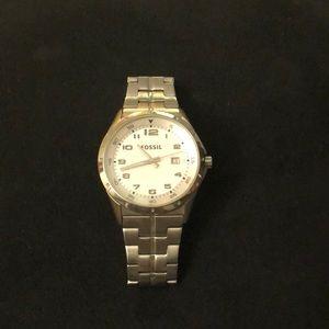 Fossil Silver Wrist Watch